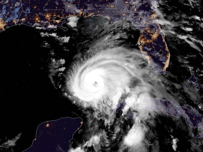 Hurricane Michael Approaches NE Florida