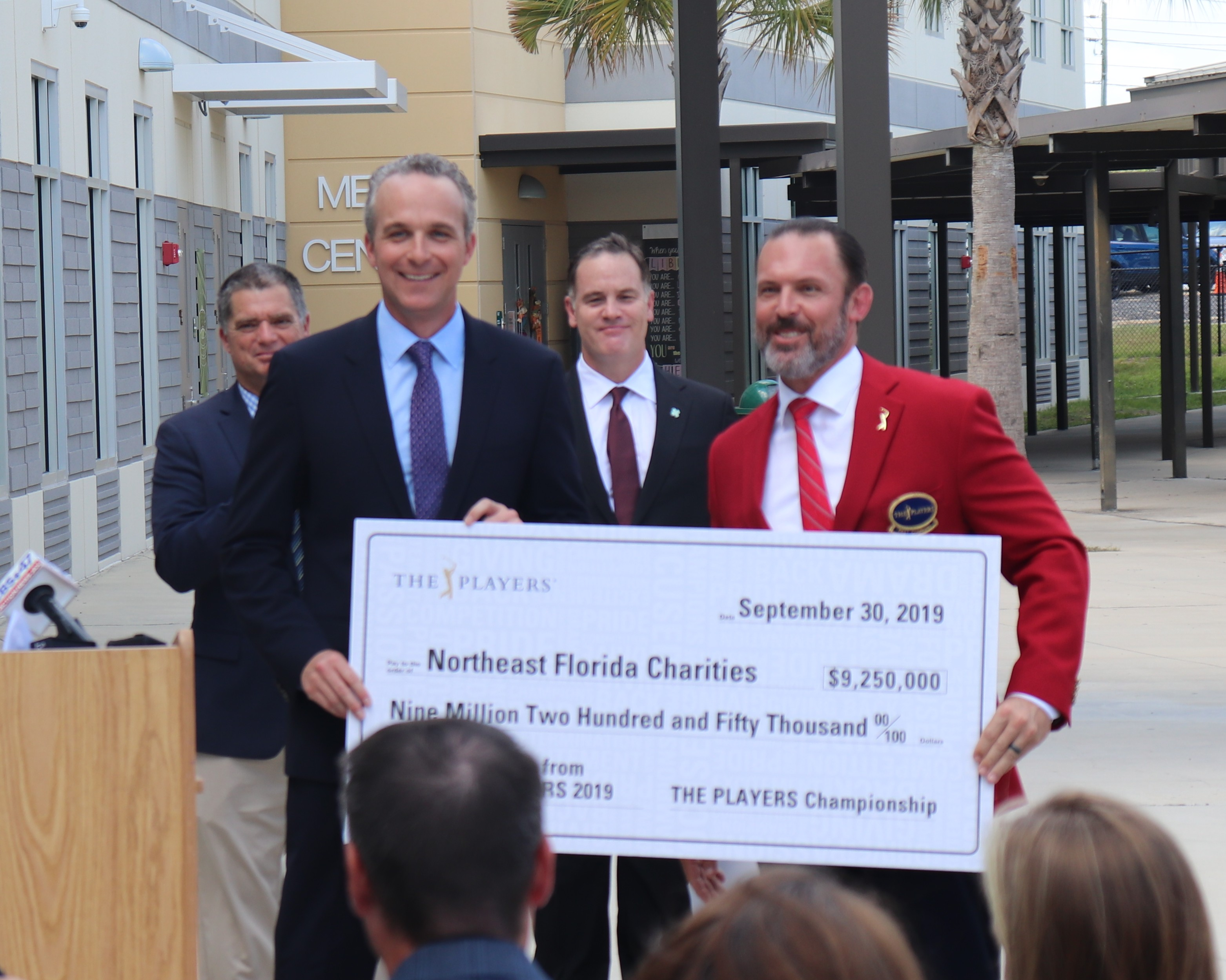 $1M Gift From THE PLAYERS for New Behavioral Health Program Announced at Nease